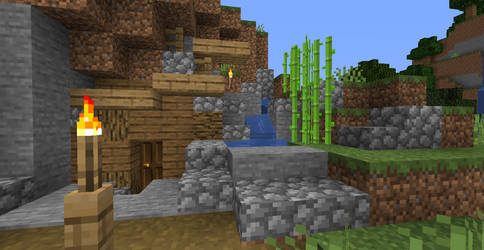 Cave Home Survival Added Decor by SmolFishyBoi