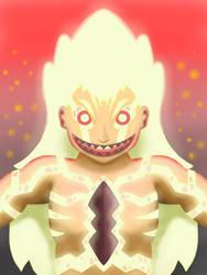 Primal Flaming Titan by SmolFishyBoi