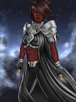 Sith Warrior: So'alle Desyila by Glorfinniell