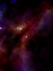 Fuchsia Space by Glorfinniell