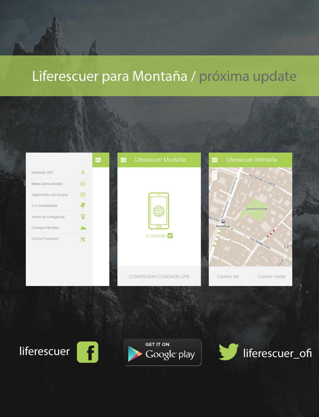 LifeRescuer para la Montana - Futura UPDATE by en3sis