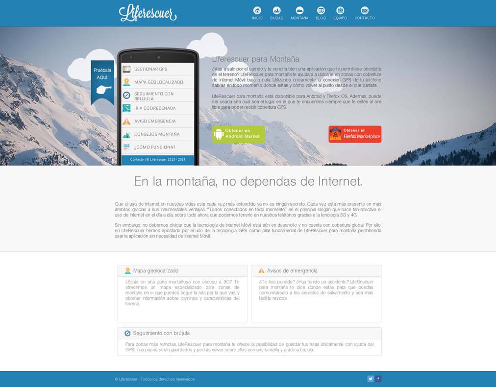 Liferescuer Website by en3sis