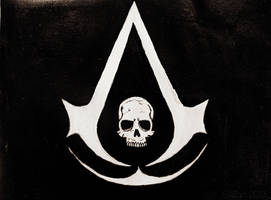 Assassins creed 4 logo by gilly15