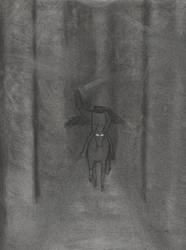 Headless Horseman - Charcoal by TheWildBlueOne