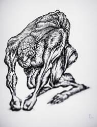 Monster on 4 legs by Dogmak