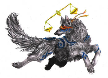 Lady Justice by silverwerwolf