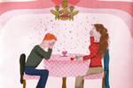 Valentine's Date by OtterAndTerrier