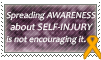 Stamp: Self-Injury Awareness 1 by OtterAndTerrier