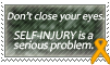 Stamp: Self-Injury Awareness 2 by OtterAndTerrier