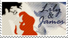 Stamp: Lily and James by OtterAndTerrier