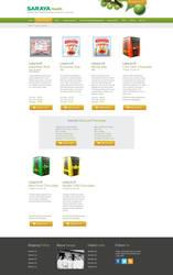 Saraya Health and Diabetes Product Page by faizalqurni