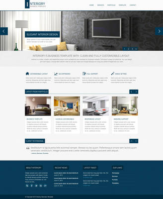 Interiory - Business And Corporate Theme by faizalqurni