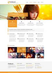Pixelio - Responsive Portfolio Theme by faizalqurni