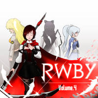 RWBY vol 4 fan cover by fkim90