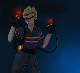 Ghostbusters: Holtzman by Angie12s
