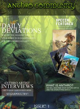AnthroCommunity Magazine - 1 by KovoWolf