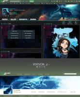 DeviantART Profile Mockup  by KovoWolf