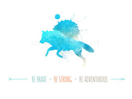 Inspiring Wolf by KovoWolf