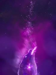 Purple Spirit by KovoWolf