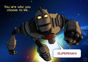 Iron Giant - Superman by R0b0C