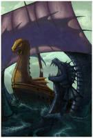 Voyage of the Dawn Treader by artgeektopia