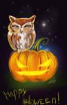 Halloween owl by Gotat