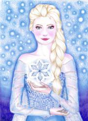 The Snow Queen by DreamyNaria
