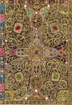 Lindau gospel cover by DreamyNaria