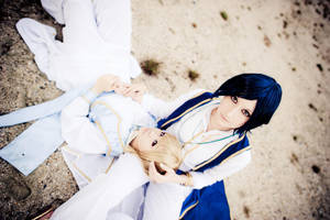 Trinity Blood: Desert Wanderer by Astellecia