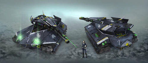 Stealth Tank by kianchai