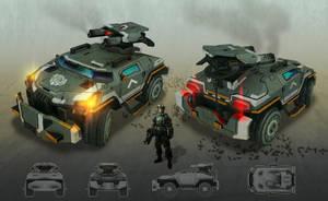 Assault Vehicle by kianchai