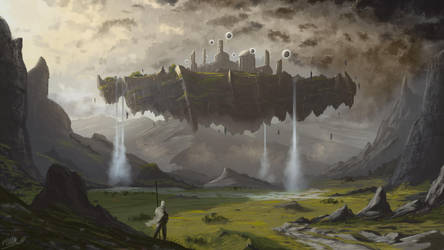 Gods Place by FrankAtt
