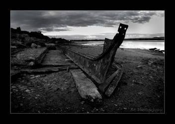 Boat Skeleton by she-sins