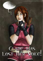 Commission: Claire Redfield Poster [Coloured] by Juuria66