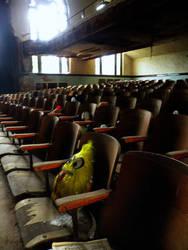 sad theatre by Serrara