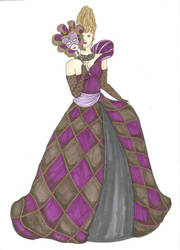 The Harlequin by Lunatiger