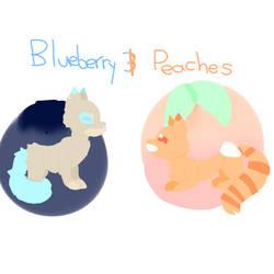 Peach  Blueberry DTA Entry by TaintedVenom