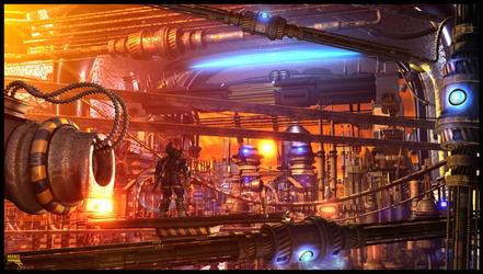 Machine City by MarcMons007