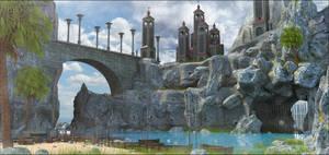 Fantasy Bridge by MarcMons007