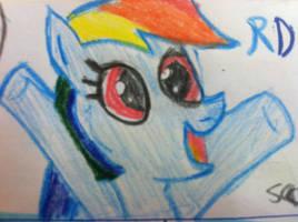 Rainbow dash I draw by rcboy17