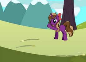 My dear friend Veronika. Made using pony generator by rcboy17