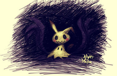 Mimikkyu by NightWolfa