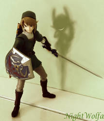 Link Twilight Princess Figma by NightWolfa
