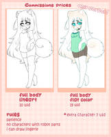 Commissions Prices ::Closed:: by AlexRockCat