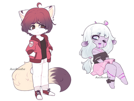 Chibi Adops Auction!! ::CLOSED:: by AlexRockCat