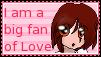 Love Fan Stamp by kumapastrychef