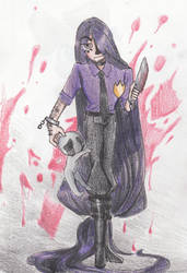 Purple Guy by kumapastrychef