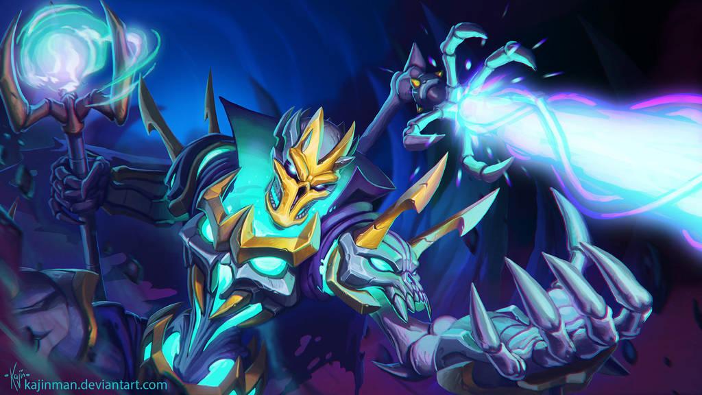 Lich Lord Viktor by kajinman