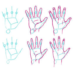 Hands mini tutorial by kajinman