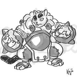 Galtus sketch by kajinman